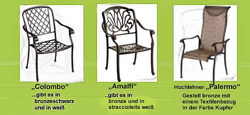 Gartenmöbel Angebot Schöne Landhaus Gartenmöbel angebote Ideen im Landhaus Stil aus Aluminium Guss. stabile Gartensessel aus Alul, stabile gartenmöbel aus Alu