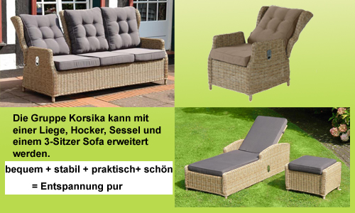 angebote gartenm bel fachgesch ft gro mann strandk rbe. Black Bedroom Furniture Sets. Home Design Ideas