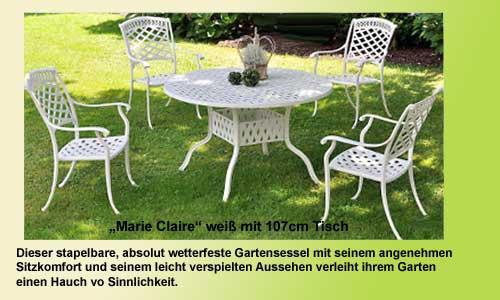 Gartenmöbel Angebot Landhaus Gartenmöbel, leichte und stabile Gartenmöbel