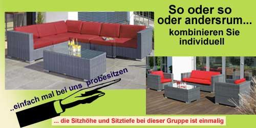 Gartenmöbel Angebote Lounge Gartenmöbel aus Polyrattangeflecht,Gartenmöbel Polyrattan Lounge