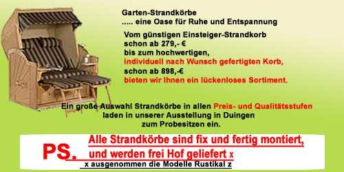 Gartenmöbel und Strandkörbe Gartenbänke Hannover Hildesheim