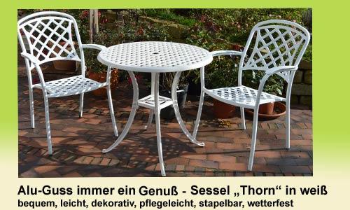 Aluguss-Angebote / Fachgeschäft Großmann / Strandkörbe Höxter ...